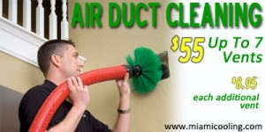 Miami Air Conditioning Air Duct Cleaning Coupon