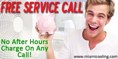 Free AC Service Call